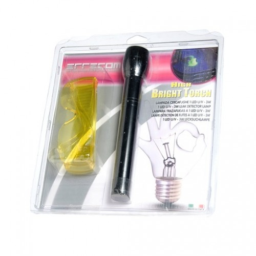 UV LED lukturis ar brillēm High Bright Torch