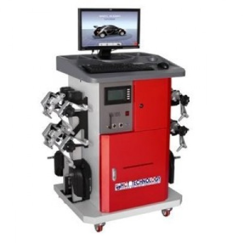 Wheel alignment equipment