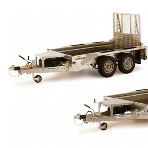 Plant trailer range - trailers for transporting plant machinery