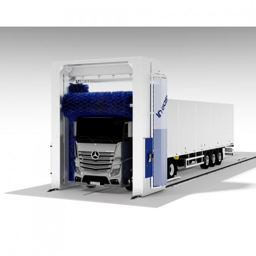Truck washing systems